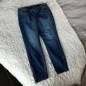 Ann Taylor LOFT capri / ankle length skinny jeans